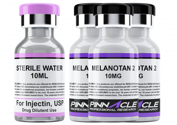 MT2 30MG STARTER RESEARCH KIT (3 MT2 + STERILE WATER)